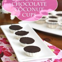 Better-Than-Mounds Chocolate Coconut Cups - Low Carb and Gluten-Free