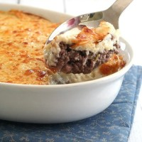 Cheesy Cauliflower Shepherd's Pie