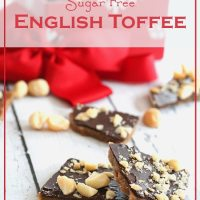 Sugar-Free English Toffee