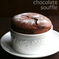 Boozy Chocolate Soufflé for Two