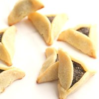 Poppy Seed Hamantaschen for Purim