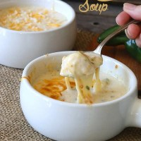 Chile Relleno Chicken Soup