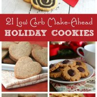 Best Low Carb Make Ahead Holiday Cookies