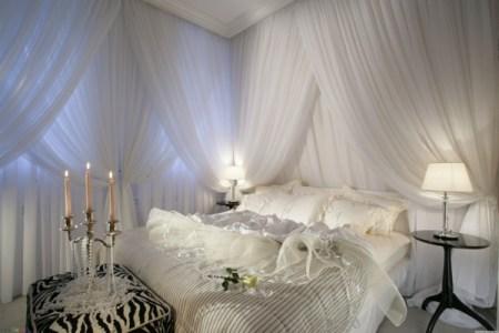 gardinen schlafzimmer bezaubern ideen1
