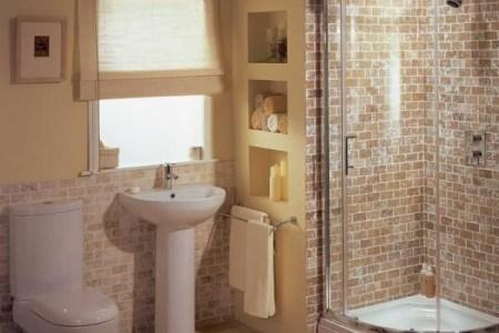 kleine fliesen badezimmer design