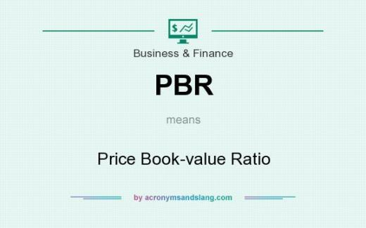 PBR means - Price Book-value Ratio