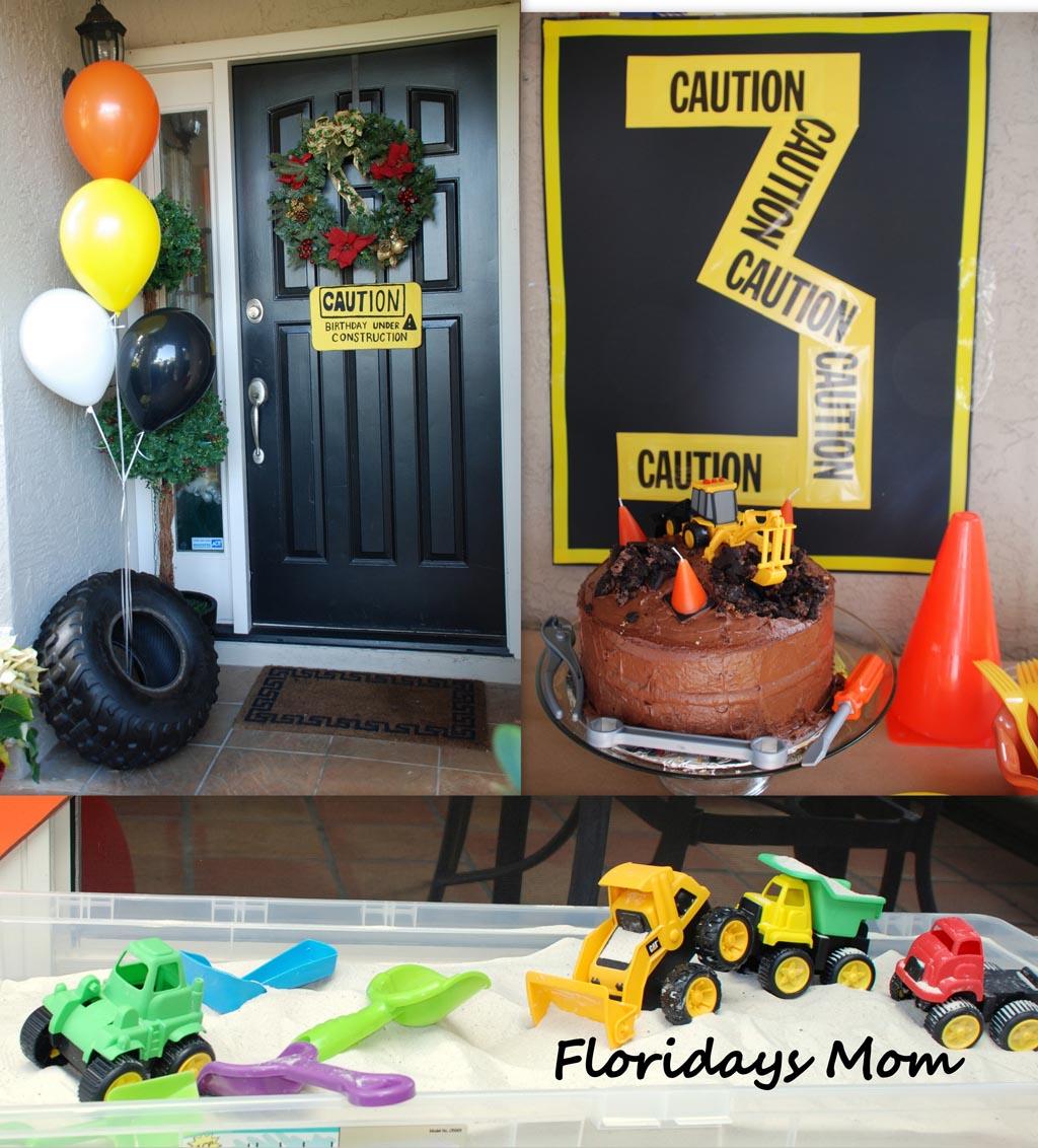 Fullsize Of Construction Birthday Party