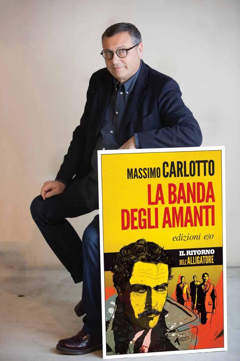 Massimo Carlotto autore della serie dell'Alligatore