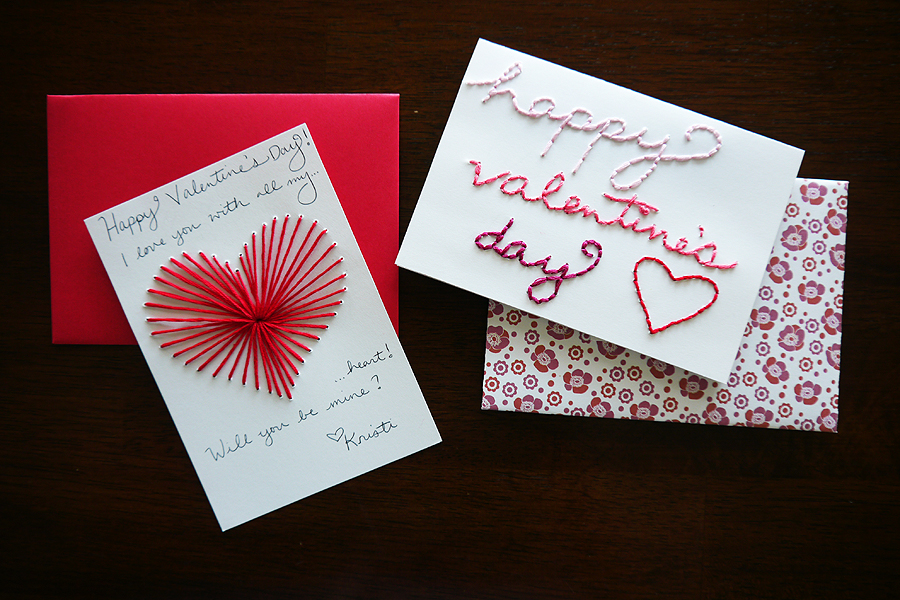 DIY Valentines Day Card  Craftbnb