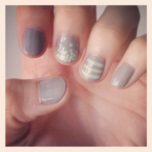 mint-gray-nails-instagram