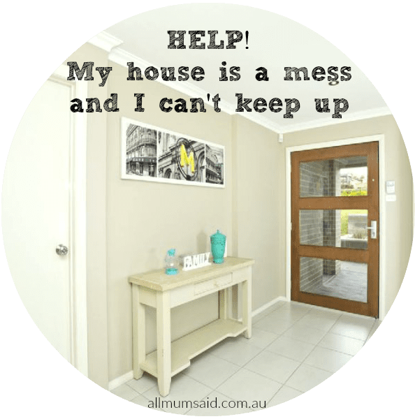 My House Was A Mess, I Couldn't Keep Up - I Needed Help!