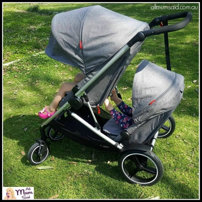 Phil & Teds Voyager Pram Review