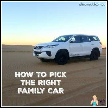 Pick The Right Family Car