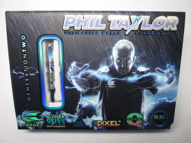 【レビュー】TARGETの『Phil Taylorモデル POWER 9FIVE GEN-2 ORIGINAL SOFT TIP』を買ってみた【インプレッション】