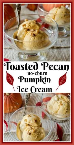 Exciting Toasted Pecan Pumpkin Ice Cream An Easy Recipe Toasted Pecan Pumpkin Ice Cream Easy Fireball Whisky Ice Cream How To Make Fireball Ice Cream
