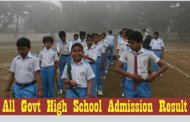 All Govt High School Admission Result 2016 Dhaka