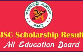 JSC Scholarship Result 2015 All Education Board