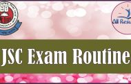 JSC Exam Routine 2016 Bangladesh All Education Board
