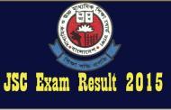 JSC Exam Result 2015 Education Board Result