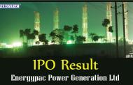 Energypac Power Generation IPO Result & Application Form