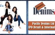 Pacific Denims Ltd IPO Result, Application Form