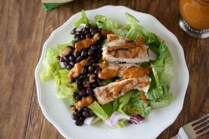 Chipotle Chicken Salad #TysonMovieTicket #CollectiveBias #shop