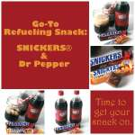 Refueling is Tasty with SNICKERS® 2-to-go and Dr Pepper