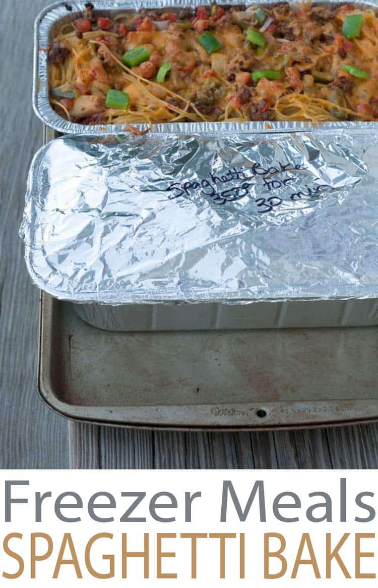 freezer meals recipes for easy weeknight cooking. Baked Spaghetti ...