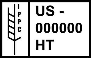 sample ISPM-15 stamp