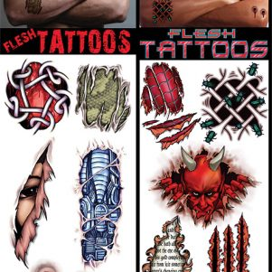 Flesh Tattoos
