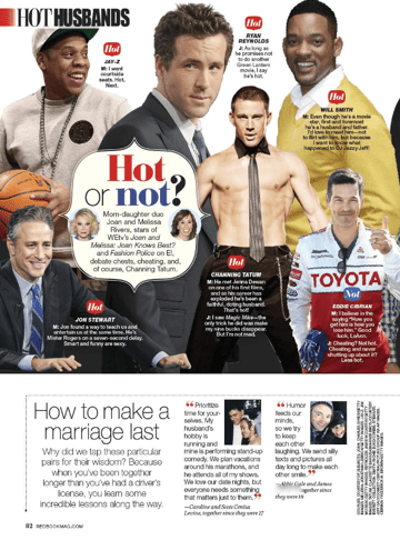 Redbook Hottest Husbands 2013