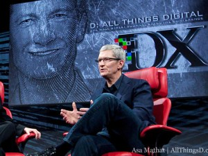Tim Cook at D10