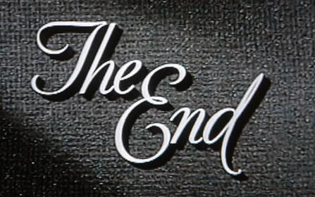 The End in a movie