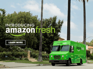 amazon fresh amazonfresh grocery delivery