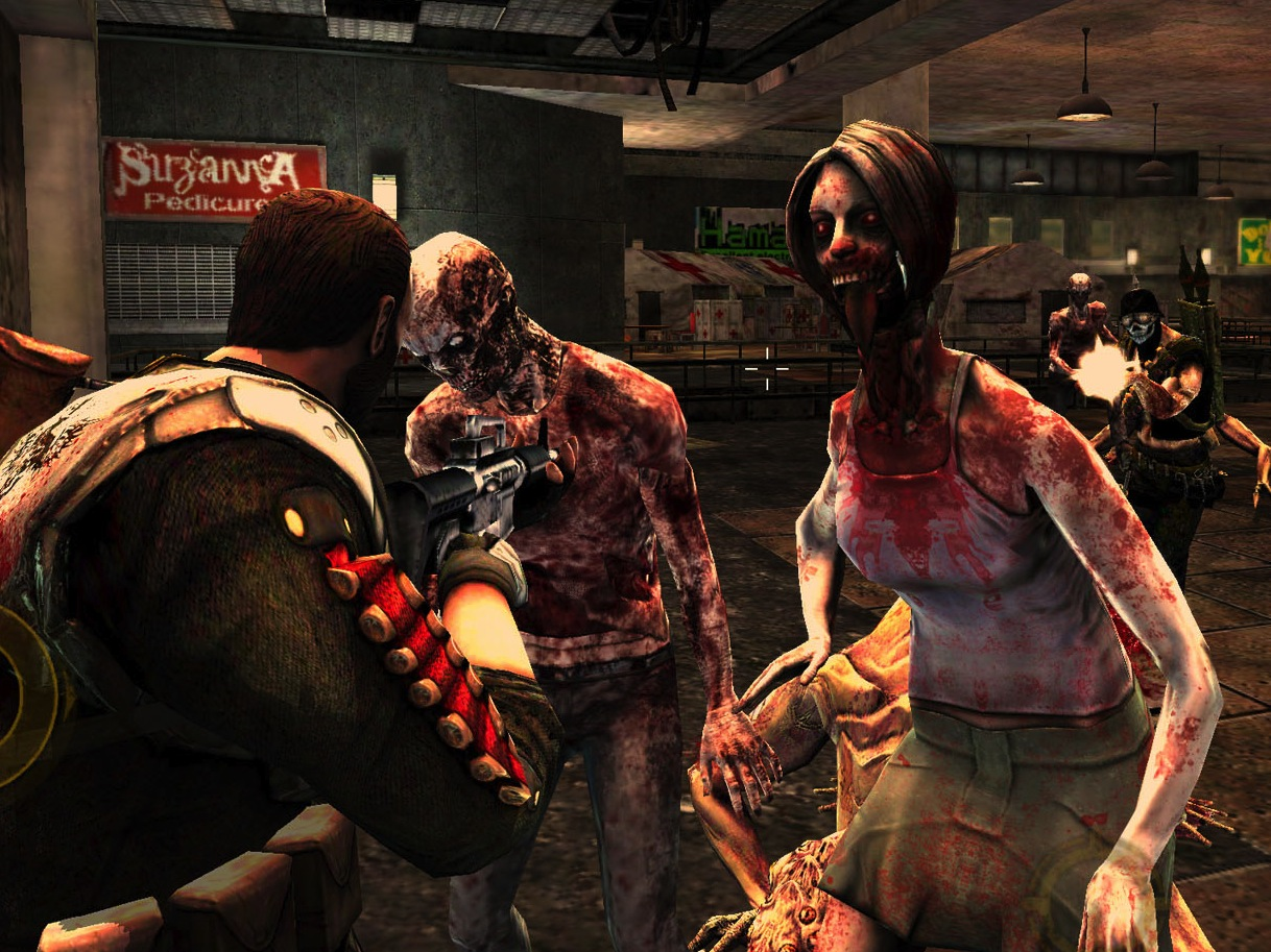 online zombie shooting games