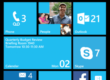 Windows 8 release 3 start screen