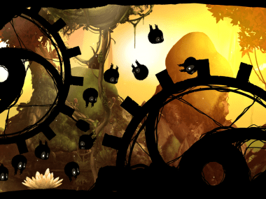 Apple's iPad game of the year, Badland.