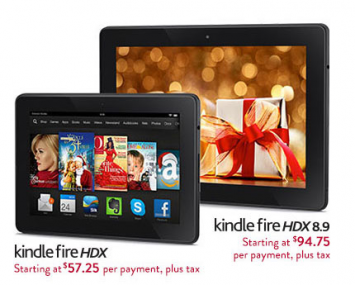amazon kindle fire installment plan