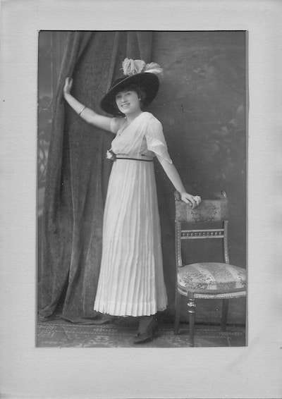 Anna Marie Merget 1915