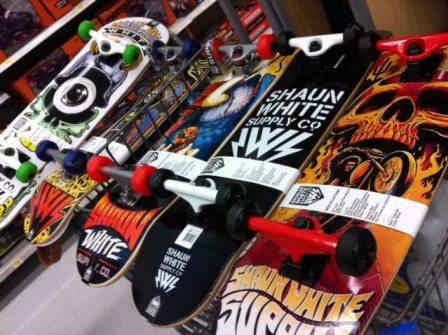 shaun white skateboards at walmart