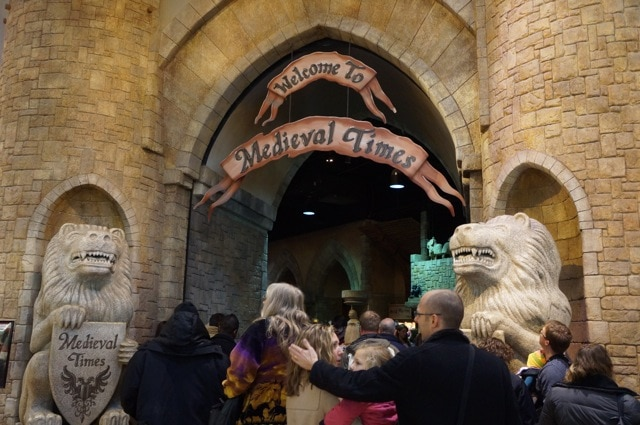 Medieval Times entrance