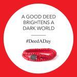 A Good Deed Brightens a Dark Work #DeedADay