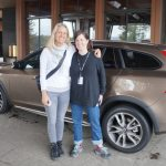 Fadra and Amelia in Volvo V60