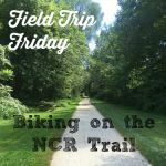 Field Trip Friday - Biking on the NCR Trail