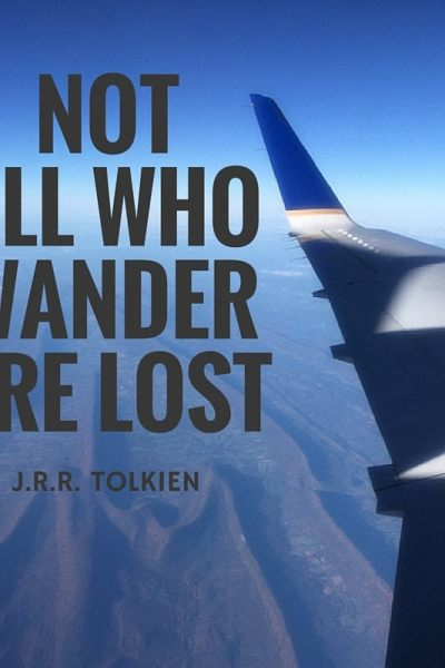 Not All Who Wander #SOCSunday
