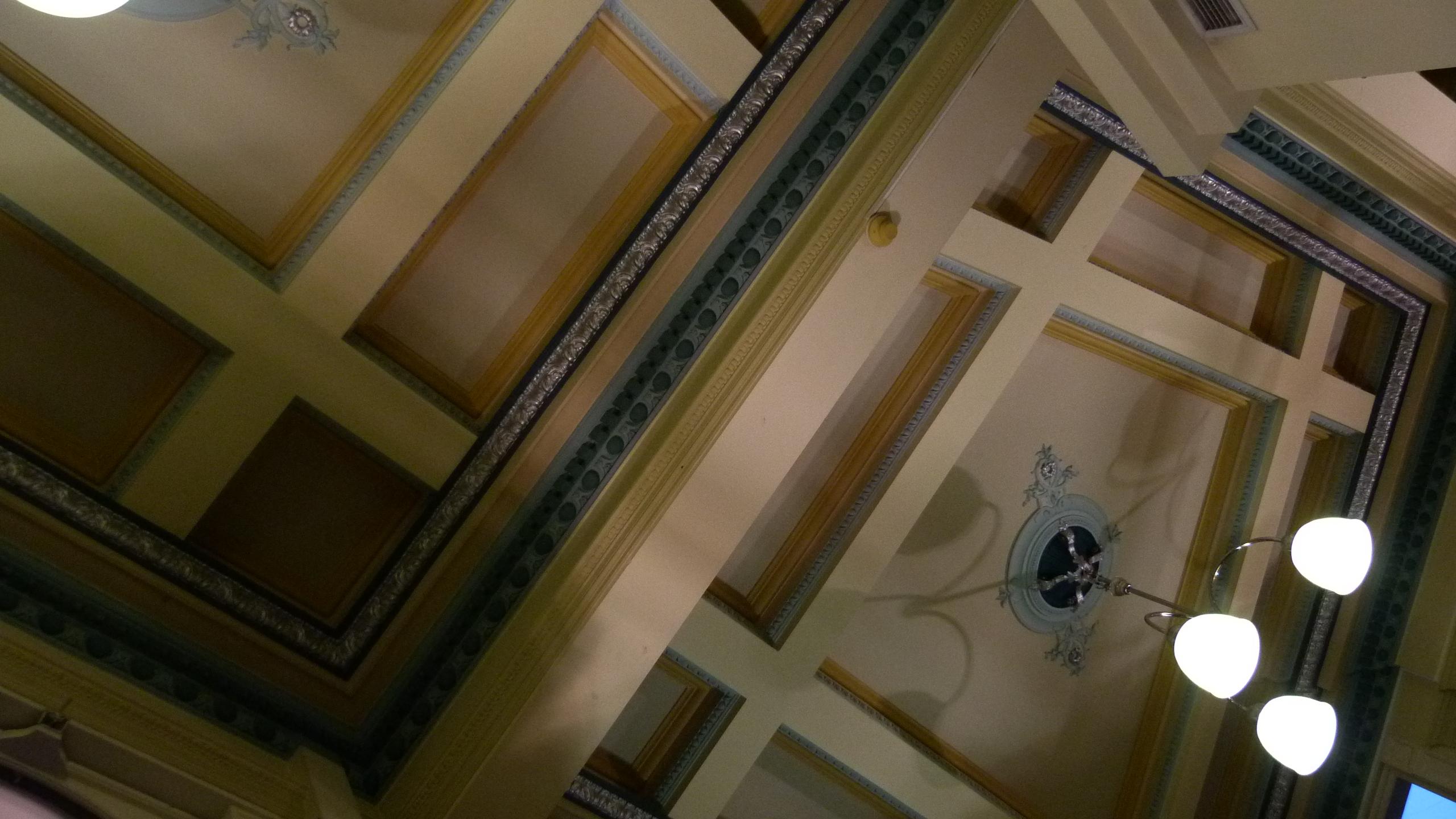 Beautiful Ceilings Here Too