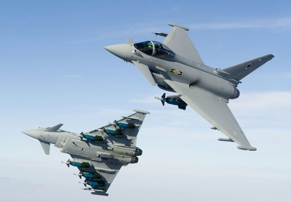 Euro-fighter Typhoon (Germany, UK, Italy and Spain)