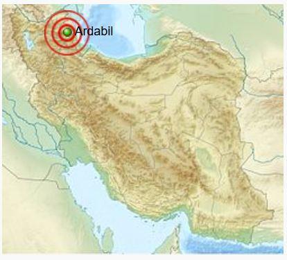 893 Ardabil earthquake