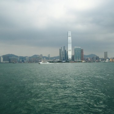 hong kong island west waterfront