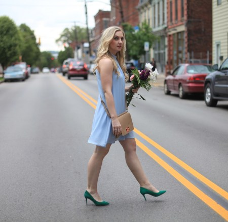 Summer Must Have: Periwinkle Shift Dress